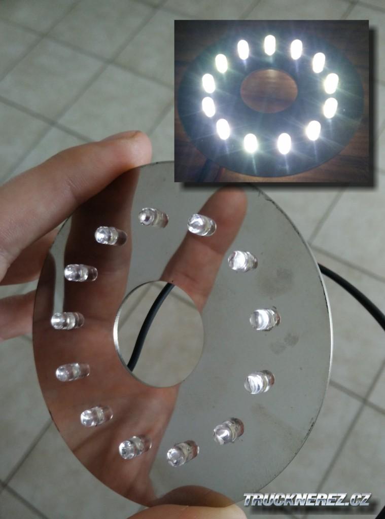 LED kroužek světla SCANIA
