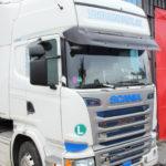sluneční clona Scania