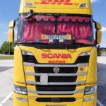 samolepka Scania king of the road